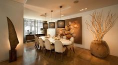 Upscale dining room Black And Blue Restaurant, Palace Interior, Delray Beach, Laser Cut Wood, Condo, Door Handles, Furniture Design, Interior Design, Dining Rooms
