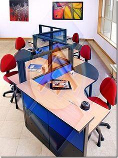 oficinas modernas Modulares para Oficinas Mobiliario de Oficina decoracion de oficinas decoracion de oficinas decoracion de interiores 2