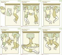 Six Threesome Positions / via krees