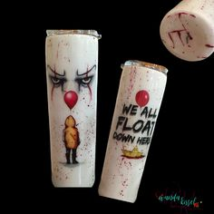 """My version of """"Pennywise"""". This was a lot of fun to make! It was a special order that I really enjoyed making!"""