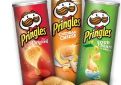 Care Package Idea:  Reuse Pringles cans for mailing cookies