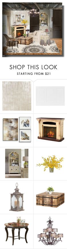 """""""Welsh Manor House Revival"""" by fowlerteetee ❤ liked on Polyvore featuring interior, interiors, interior design, home, home decor, interior decorating, DutchCrafters, Hooker Furniture, The French Bee and Home Decorators Collection"""