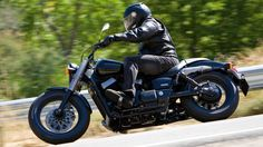 Honda VT 750CB Shadow Black Spirit