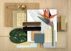 Mood Board Interior, Interior Design Boards, Mexican Restaurant Design, Interior Design Presentation, Material Board, Green Craft, Art Deco, Green And Gold, Mood Boards