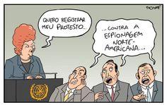 Dilma reclama de espionagem na ONU