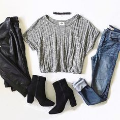 Best Cute Fall Outfits Part 3 Cute Fall Outfits, Fall Winter Outfits, Spring Outfits, Trendy Outfits, Teen Fashion Outfits, Mode Outfits, Look Boho, College Outfits, Outfit Goals