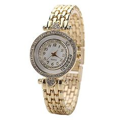 """Leoy88 Fashion Casual Stainless Steel Watches $5.01 Band Material: Alloy Case Diameter: 2.7cm/1.06"""" (Approx.) Band Width: 1.2cm/0.47"""" (Approx.) Band Length: 20cm/7.87"""" (Approx.) Brand new and high quality.Great gift for you and your friends. High quality alloy band gives you a new classic definition.With its classic and contemporary design, it is very popular. Life is a beautiful and amazing adventure, this wrist watch with rhinestone design will make you to be the focus at the party."""