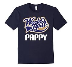 Worlds Best Pappy Tee Grandpa Fathers Day T-shirt - Male Small - Navy Homewise Shopper http://www.amazon.com/dp/B016XA49XY/ref=cm_sw_r_pi_dp_bCLvwb0W0GAWH