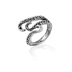 2017 New Punk Gothic Squid Octopus Finger Rings Fashion Jewelry Opened Adjustable Size for Men