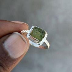 Handmade Rings, Handmade Bracelets, Earrings Handmade, Raw Gemstone Ring, Meteorite Ring, Garnet Jewelry, Raw Gemstones, Boho Rings, Personalized Jewelry