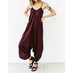 Brown Harem Loose Drape Jumpsuit Size Small Beautiful! Brown loose drape harem jumpsuit 95% Rayon 5% Spandex Blend. Size Small. No Trades, Price Firm unless Bundled. BUNDLE 3 OR MORE ITEMS FOR 15 % OFF Boutique Pants Jumpsuits & Rompers
