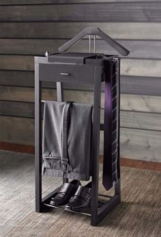 Valet Organizer Clothing Suit Standing Mens Stand Clothes Hanger Clothes Rack #KennethCole