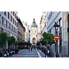 Streets of Budapest, St. Stephen's Basilica. Budapest Hungary is such a beautiful place, no wonder why it is included as one of the top ten cities to visit in Europe. It was amazing how I got to see such wonderful panoramic views and I will definitely recommend to visit the city!