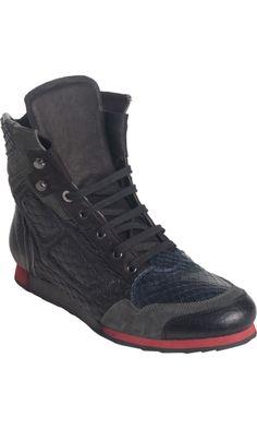 LANVIN High Top Sneaker Boot