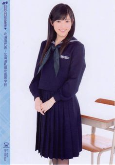 #Watanabe_Mayu in 47 school uniform (seifuku) - 3rd single solo