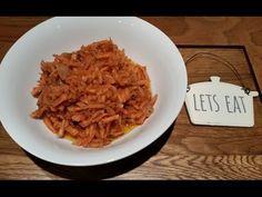 Ana's Russian Food - Russian/Korean Carrot Salad - YouTube