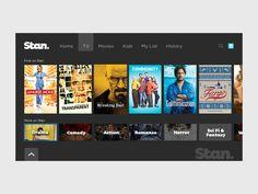 Stan TV App Genres