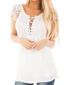 2017 Summer Lace Sleeve T-shirt Long Tops Women Kawaii Korean Plus Size Tee  Shirt Femme Funny T Shirts 6889ab45a