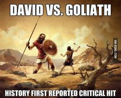 History's First Reported Critical Hit