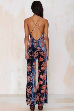 Line & Dot Senne Velvet Jumpsuit - Rompers + Jumpsuits   I'm With the Band   Night Fever   Line and Dot