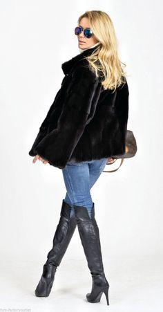 mink furs - milano black nafa mink fur jacket Услуги пушного брокера: www.furol.ru