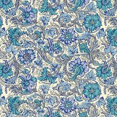 JaponskaZahrada / Florentský art papier Blue grapes