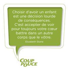 #enfant #maman #citation Beau Message, Jolie Phrase, Quote Citation, French Quotes, Sentences, Funny Quotes, Poetry, Wisdom, Thoughts
