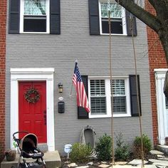 exterior paint schemes red door. photos: red front doors. garage paint colorsfront exterior schemes door