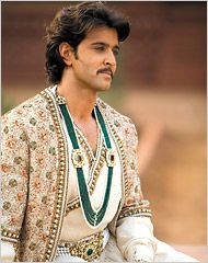 "Hrithik Roshan in ""Jodhaa Akbar"" in your the best moment"