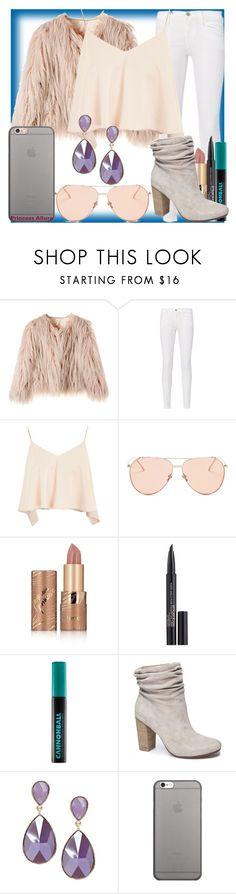 """""""Princess Allura! (Voltron Legendary Defender)"""" by geekyandnerdyfashion ❤ liked on Polyvore featuring Frame, Topshop, Linda Farrow Vintage, tarte, Smashbox, Urban Decay, Chinese Laundry and Native Union"""