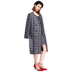 YIGELILA Classic Black Plaid Long Sleeve Satin Women Coat... http://www.amazon.com/dp/B01EUEIZRQ/ref=cm_sw_r_pi_dp_QRUjxb0ERQFHZ