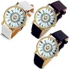 Lancardo 3 Pcs Peacock Feather Dress Watch for Women Lady with Gift Bag * Check this awesome image