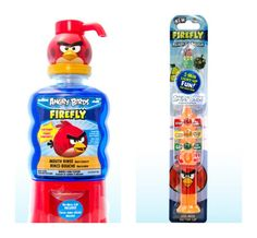 What Mommies Need reviews Firefly #AngryBirdMouthRinse and #ReadyGoBrush @Renee Bigner