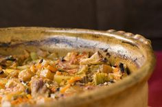 TURLITAVA Turlitava is a common traditional dish in Macedonia. It's made of vegetable and meat stew baked in an oven in a traditional pottery dish. Turlitava arrives from Turkish words turli meaning mixed and tava, a pottery dish.