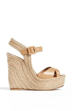 Valentino wedge // obsessed // so comfortable