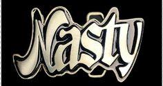 NASTY SEXY GIRL BELT BUCKLE SEX WORDS GRAFITTI COOL BELT BUCKLES #nasty #nastywoman #nastynastywoman #funny #nastybeltbuckle #nastybuckles #funnybuckle #beltbuckle