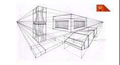 Perspective Drawing: Intermediate 30 inter two point objects 05