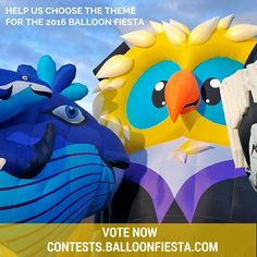 Help us choose the theme for the 2016 Balloon Fiesta! Voting is now open on this page: http://goo.gl/CTSDLo. Votes will be accepted until 11:59 p.m. MDT, June 11, 2015. Only one vote per email will be accepted.