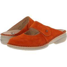 Finn Comfort Stanford - 2552 Women's Clog Shoes, Orange