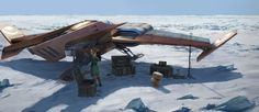 Science Fiction — noisy-pics:   Artworks by Julien Gauthier ...