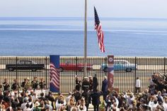 U.S. Flag flies over Embassy in Cuba for First Time in 54 years