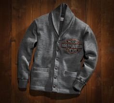 Brand new, vintage-inspired Harley-Davidson clothing... Modeled after original Harley clothes from way back when!... Never knew how much I needed something like this until now...  Harley-Davidson Museum Shop - Posters and Framed Art Prints Available #harleydavidsongifts