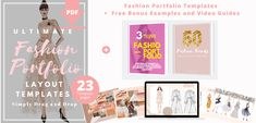 Fashion Design Sketchbook, Fashion Design Portfolio, Fashion Design Drawings, Fashion Illustration Template, Sketchbook Layout, Fashion Competition, Fashion Design Template, Portfolio Examples, Portfolio Presentation