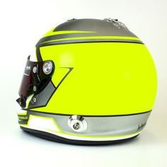 Ready for season 2018?⏳ Bold neon colored helmade Crown design for Nick Deissler. Burn some laps with this one! 🏁 #helmade #withpassion #matte #beauty #motorsports #racing #helmet #design #helmetdesign #helmdesign #neon #arai #season2018