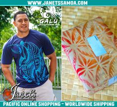 Pacific Online Shopping, Worldwide Shipping – janetssamoa.com   Bonjour and Faafetai Tele Lava to Anne from France for her purchase of our popular GALU Samoa T-Shirt Paddle Design for her friend. http://www.janetssamoa.com/galu-t-shirt-paddles-navy/   Your gift of A GALU Samoa T-shirt will be greatly appreciated by the recipient who will take with him the latest in Pacific Menswear  Faafetai and Thank You to Anne for shopping online at janetssamoa.com    ●►Visit us now at www.janetssamoa.com
