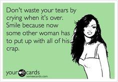 Bhahaha so true she have can him! :)