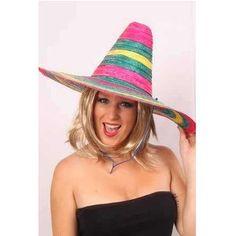 Een grote Mexicaanse sombrero. Hiermee kom je meteen in de juiste, zonnige stemming. De <br>sombrero heeft een diameter van 49 cm. De sombrero is heerlijk tegen de felle zon maar natuurlijk <br>vooral geschikt voor themafeesten. De sombrero Mexico is onze meest verkochte sombrero. Een <br>prima sombrero voor een prima prijs die meteen de juiste sfeer geeft op je feest! De kleuren kunnen <br>licht afwijken van de foto. themafeesten mexicaans