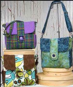 Junior Classic Messenger Bag Pattern Download