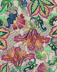 Crayon Flower - Lunelli Textil | www.lunelli.com.br