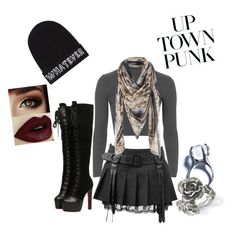 """Uptown Punk"" by doubledee513 on Polyvore featuring Topshop, Local Heroes, Kill Star and Natures Jewelry"